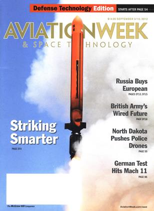 Cover for the SEPTEMBER 3/10 Defense Technology Edition 2012 issue