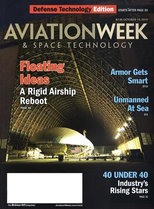 Cover for the October 15 Defense Technology Edition 2012 issue