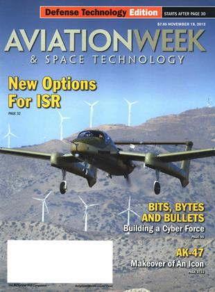 Cover for the November 19 Defense Technology Edition 2012 issue