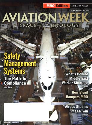 Cover for the January 27 MRO Edition 2014 issue