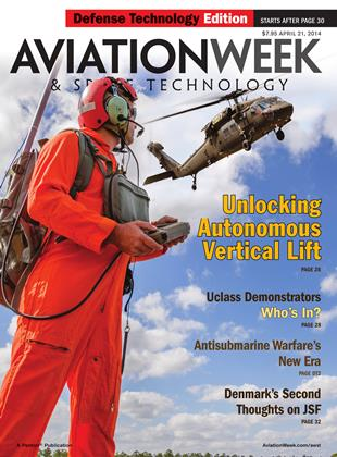Cover for the April 21 DT Edition 2014 issue