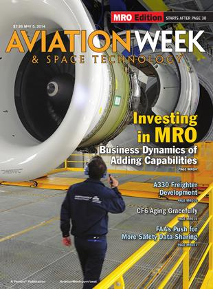Cover for the May 5 MRO Edition 2014 issue