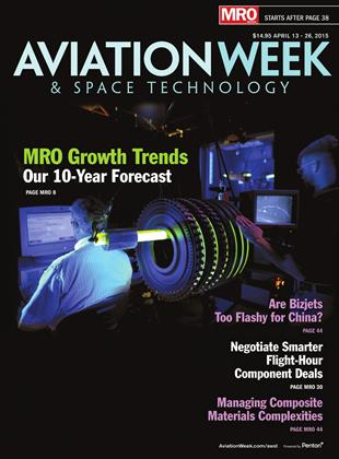 Cover for the APRIL 13 - 26 MRO Edition 2015 issue