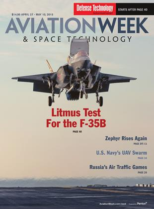 Cover for the APRIL 27 - MAY 10 Defense Technology International 2015 issue