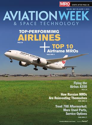 Cover for the MAY 25-JUNE 7 MRO Edition 2015 issue