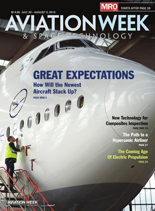 Cover for the JULY 20 - AUGUST 2 MRO Edition 2015 issue