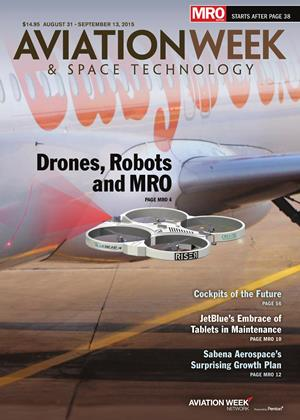 Cover for the AUGUST 31 - SEPTEMBER 13 MRO Edition 2015 issue