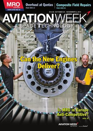 Cover for the OCTOBER 26-NOVEMBER 8 MRO Edition 2015 issue