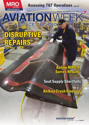 Cover for the DECEMBER 7-20 MRO Edition 2015 issue