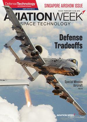 Cover for the FEBRUARY 15-28 Defense Technology International 2016 issue
