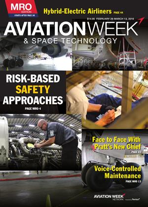 Cover for the FEBRUARY 29-MARCH 13 MRO Edition 2016 issue