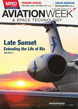 Cover for the APRIL 25-MAY 8 MRO Edition 2016 issue