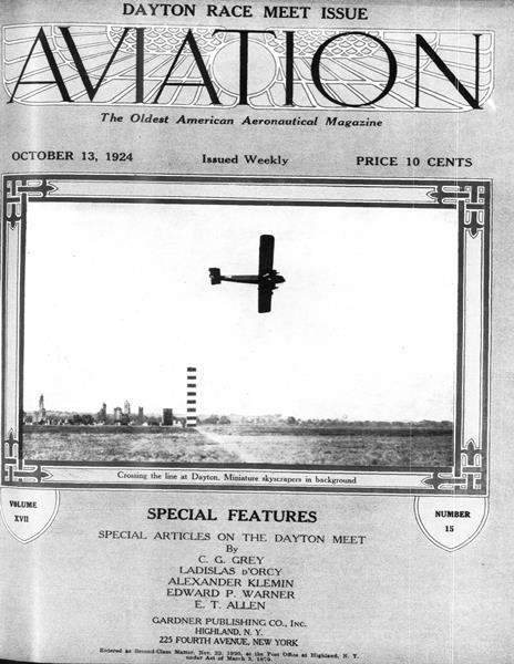 Aviation Week | October 13 1924